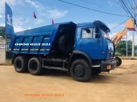 Bán xe ben 15 tấn Kamaz, Kamaz 65115 (6x4) mới GA CƠ 10,3M3    Giá bán xe ben 3 chân Kamaz mới nhất