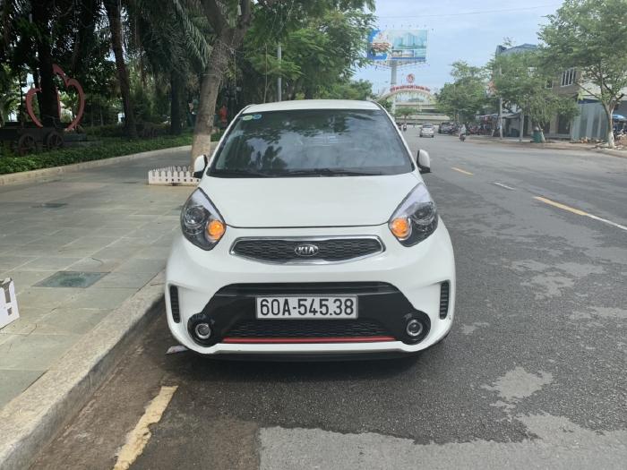 Bán Kia Morning Si 1.25MT màu trắng số sàn sản xuất 2018 mẫu 2019 mới nhất đi 500km 3