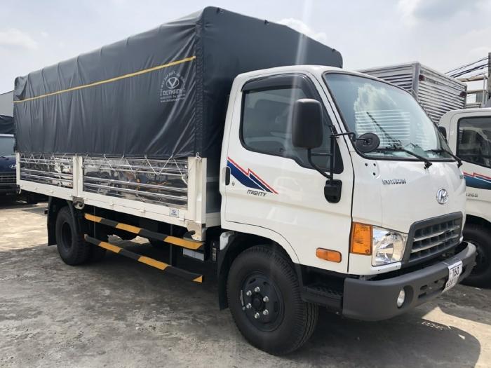 Xe New Mighty 2017, 7 tấn 8, máy Huyndai, thùng dài 5m1 5