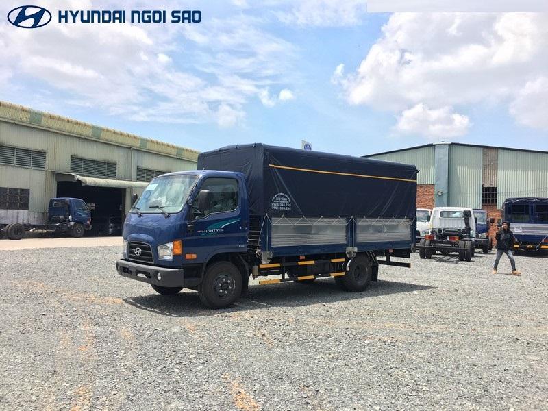 Xe tải hyundai 3 tấn 5 model New Mighty 75S mới nhất.