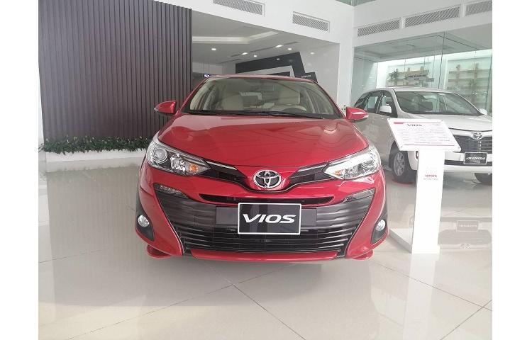 Bán Xe Toyota Vios G Số Tự Động, Sản xuất 2019 Mới 100%  Hỗ Trợ Trả Góp