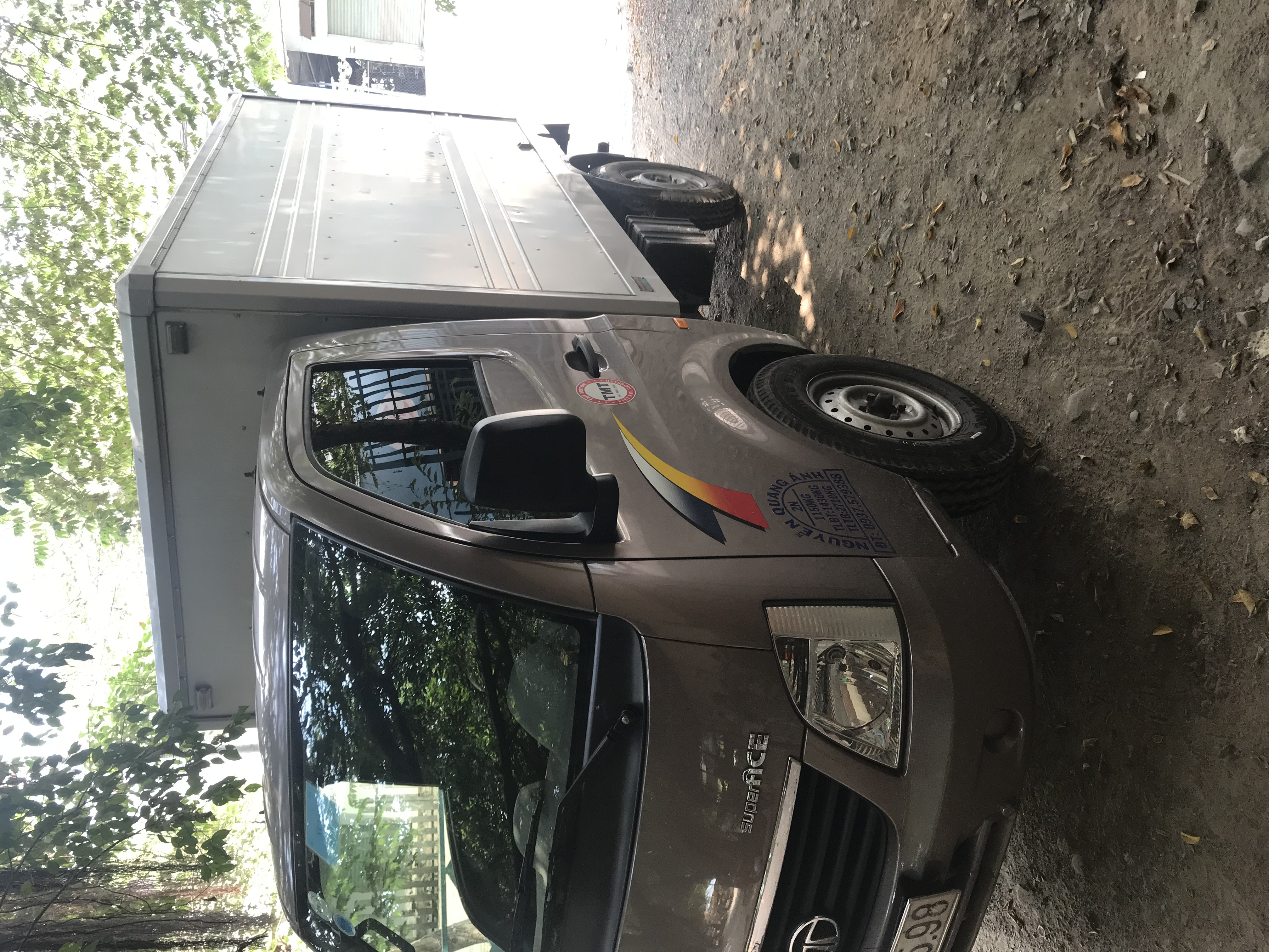 Bán xe tải tata 1.2tấn máy dầu 2017
