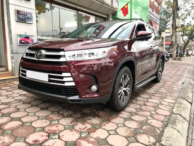 Toyota Highlander LE 2018   Nhập Mỹ Nguyên Chiếc   Giao Ngay Toàn Quốc