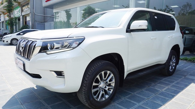 Toyota Land Cruiser PRADO VX 2018   Nhập Nhật Bản Nguyên Chiếc   Giao Ngay Toàn Quốc