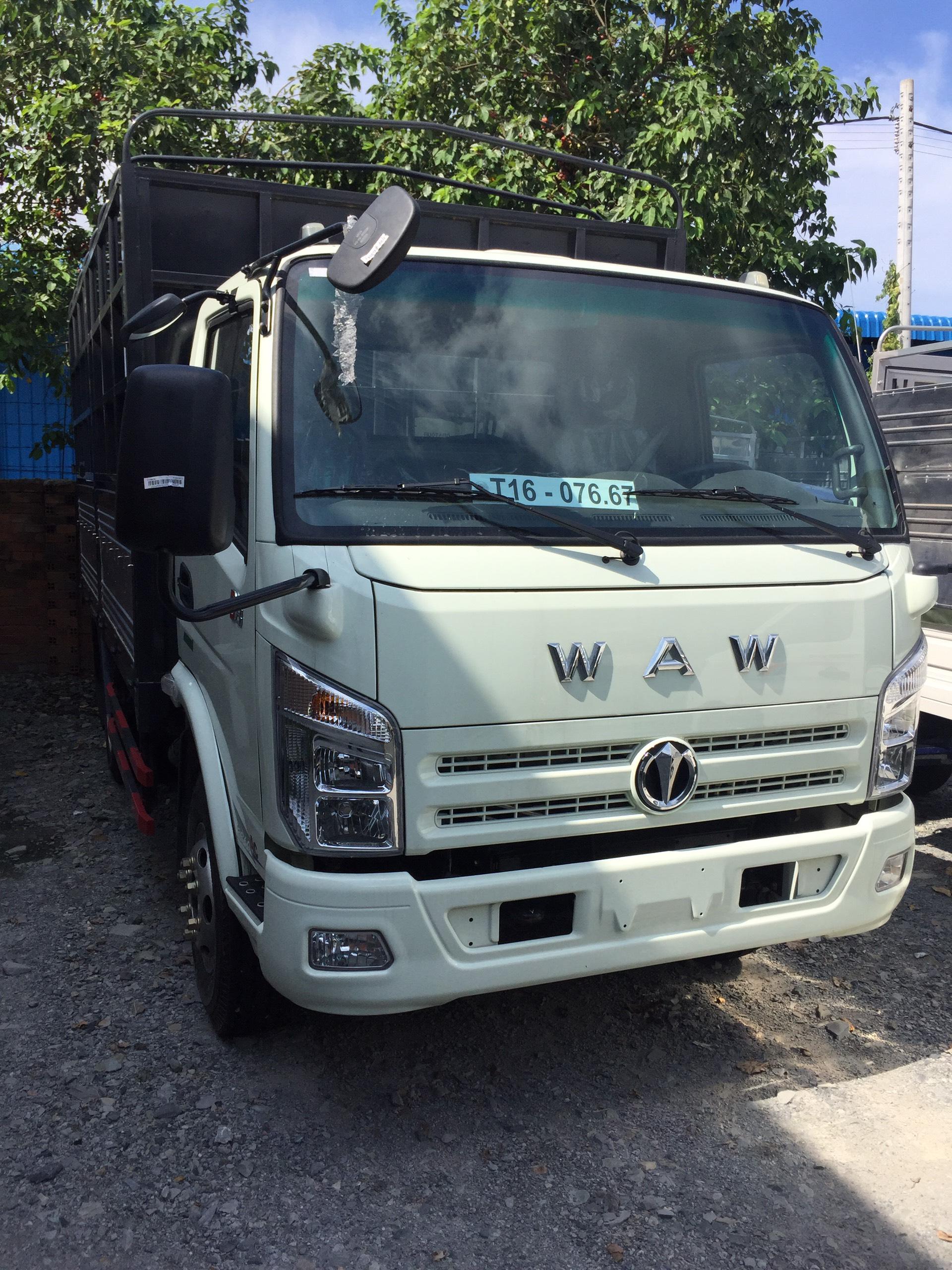xe tải thùng chiến thắng WAW