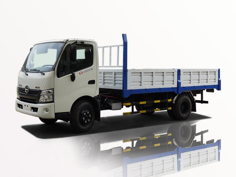xe tải hino 5 tấn thùng lững FC