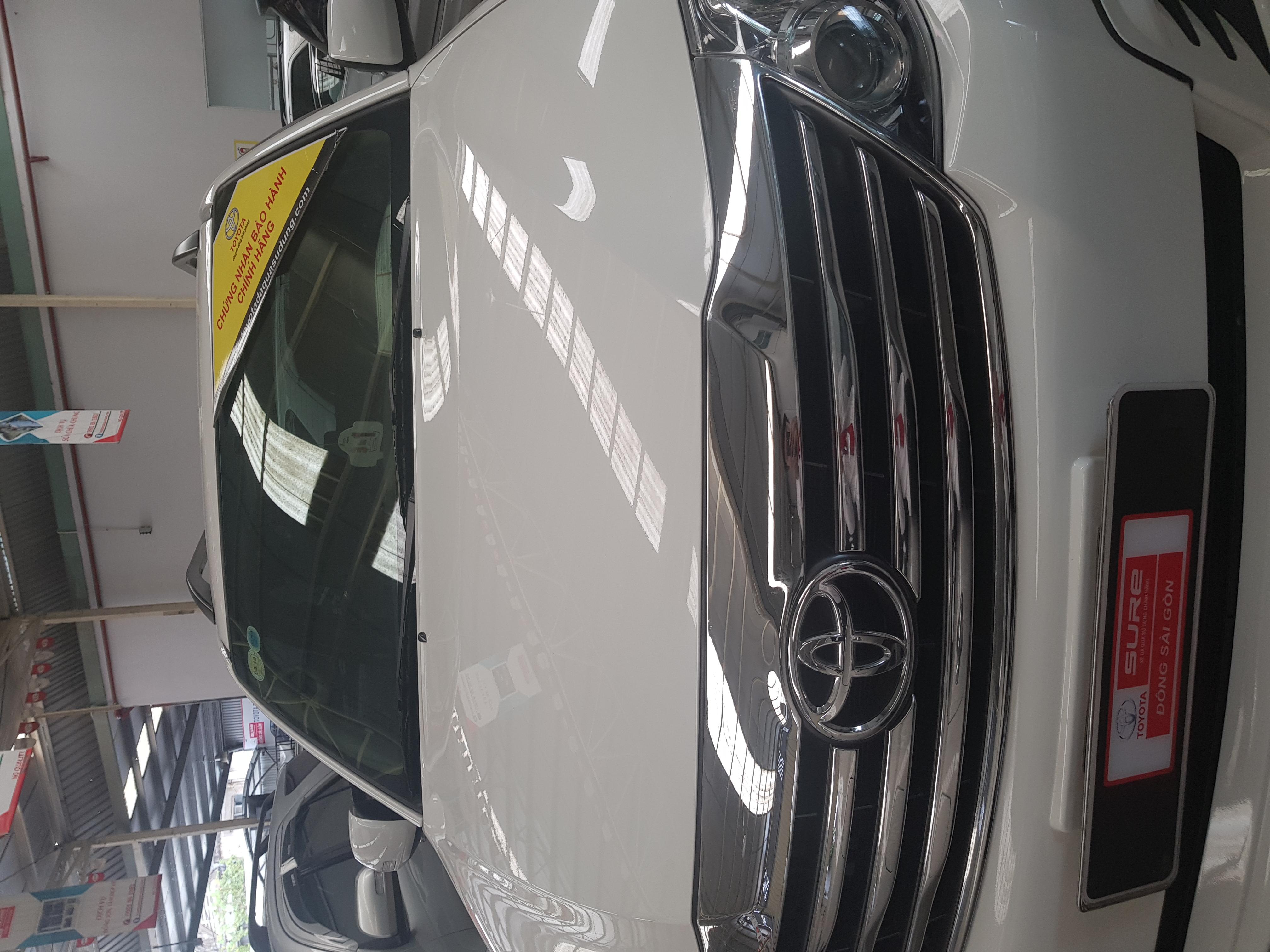 Bán xe Fortuner 2.7, trắng ,2016,  xe có hỗ trợ vay, l.hệ trung 036 686 7378 để dc hỗ trợ giá tốt ạ