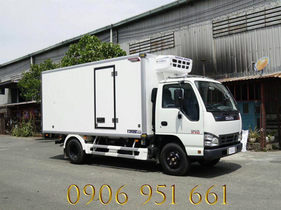 Bán xe tải thùng Đông Lạnh trả góp, lãi suất thấp , giao xe tận cửa nhà