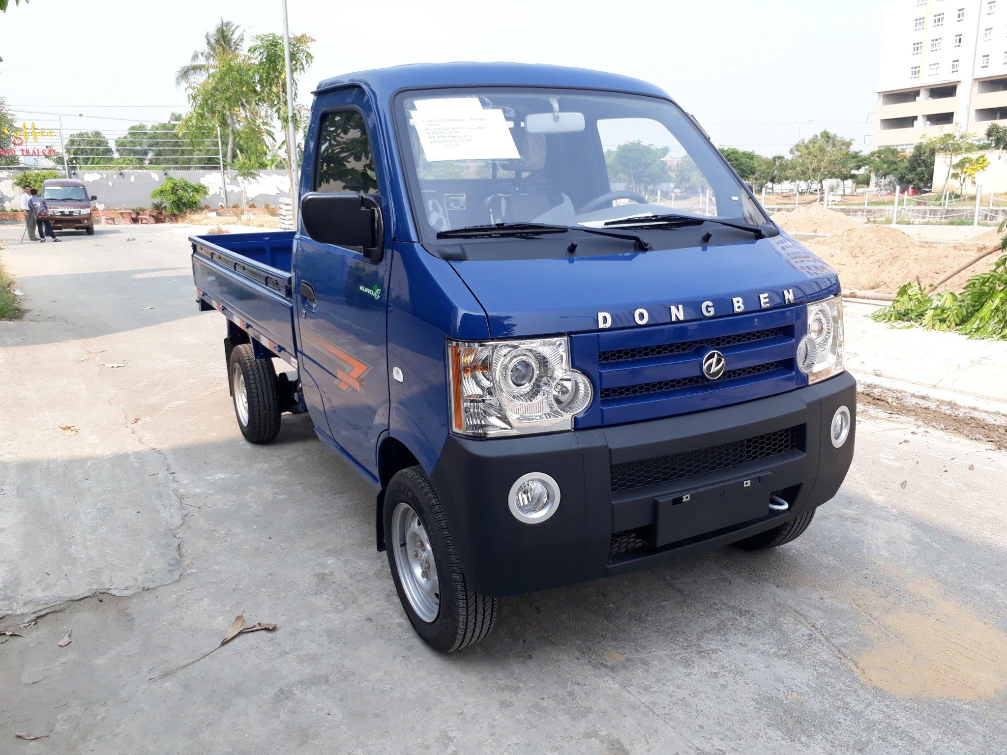 Xe tải dongben 870kg thùng lửng - trả trước 60 tr nhận được xe- hỗ trợ 80%