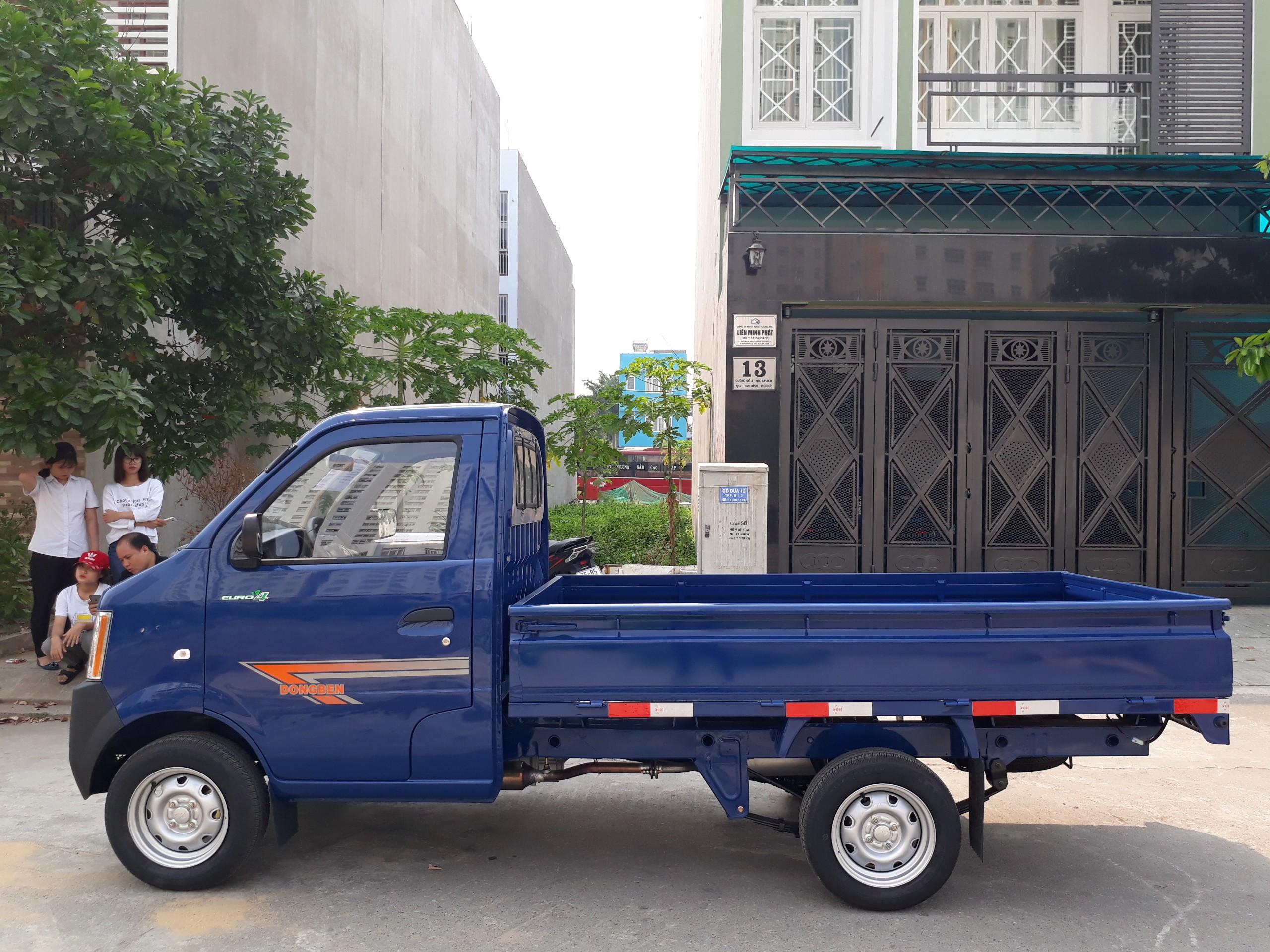 Xe tải Dongben 870kg trả trước 60 tr có ngay xe - hỗ trợ 90%