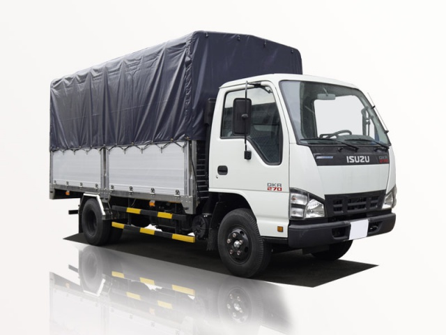 xe tải isuzu 2t3 thùng bạt qkr 270 đời 2019