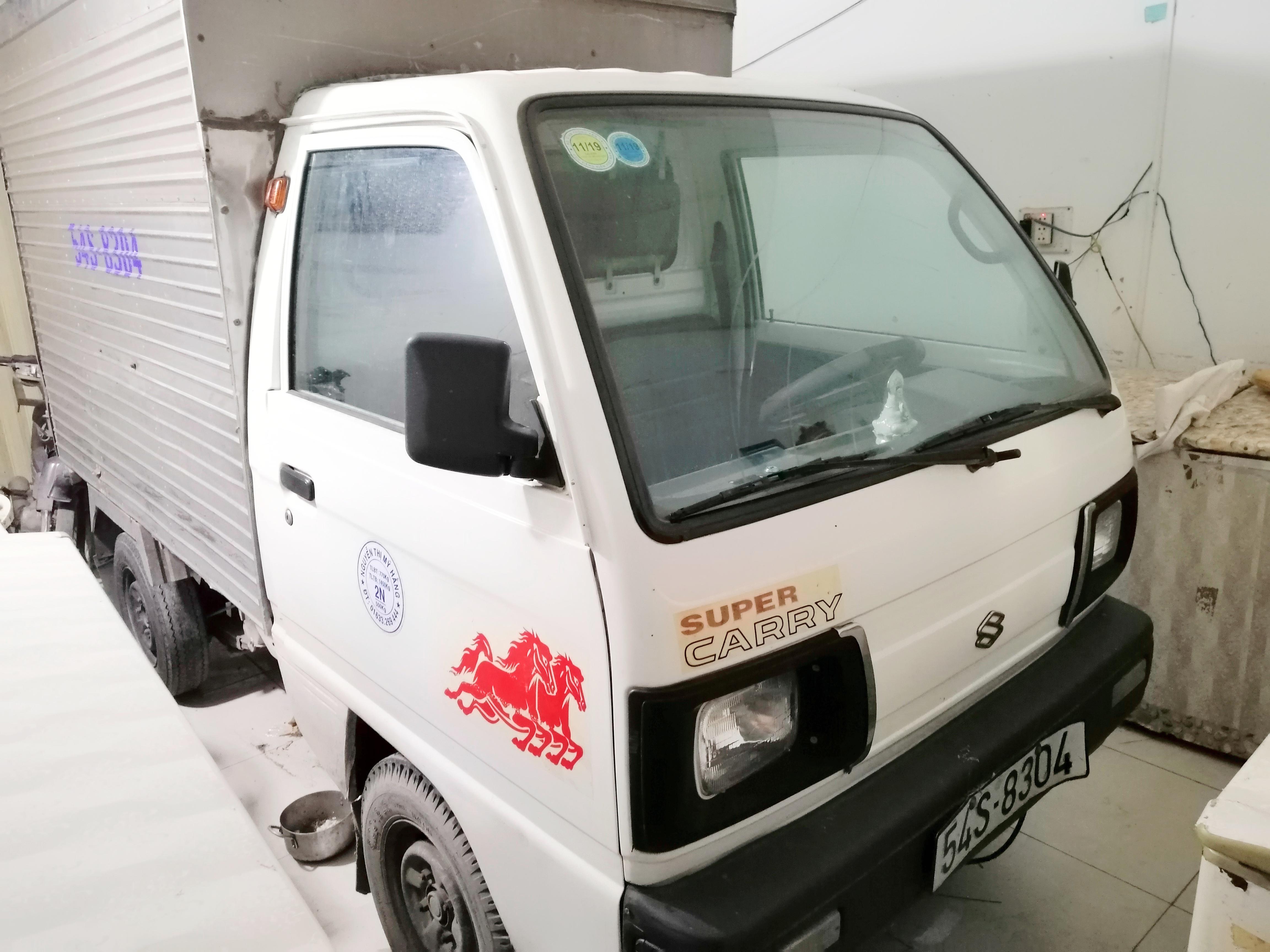 Suzuki thùng kín đời 2002