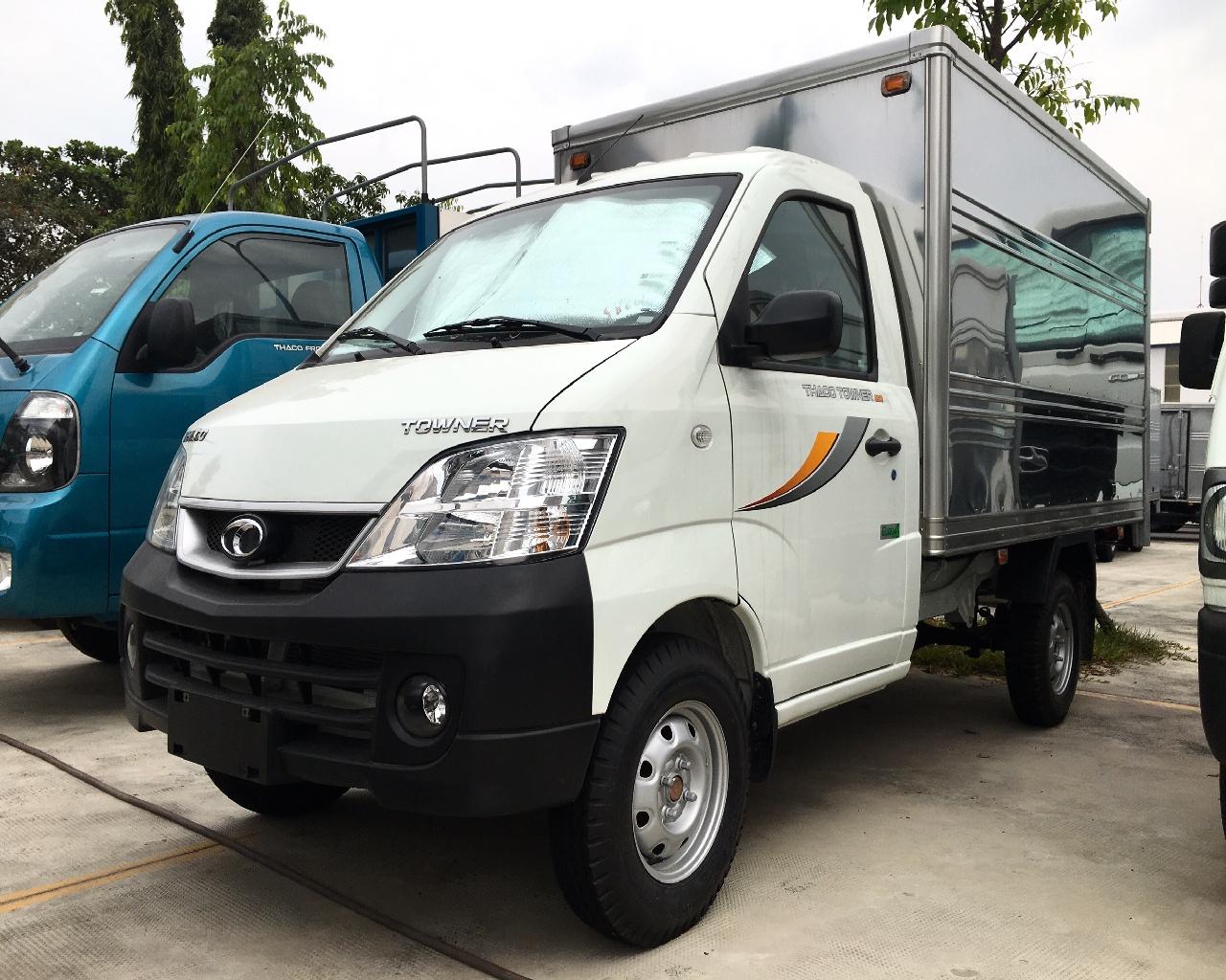 Bán xe tải THACO TOWNER990 2019. Miễn 100% thuế trước bạ. Hỗ trợ trả góp 70-75%.