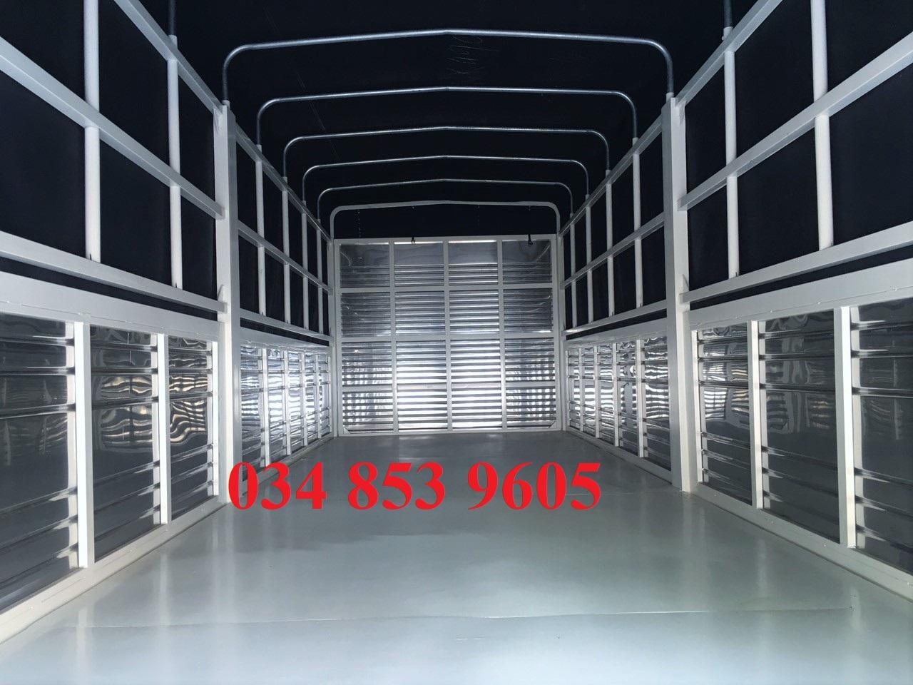 xe tải isuzu 1 tấn 9 thung bạt 6m2 - lăn bánh 115tr có ngay xe - hỗ trợ trả góp 80 %