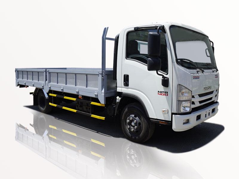 xe tải isuzu 4t5 thùng lững npr 400 đời 2019