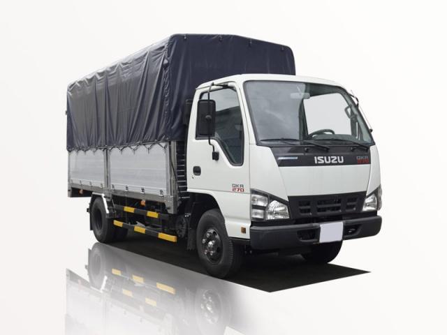 xe tải isuzu 1t9 thùng bạt qkr 270 đời 2019