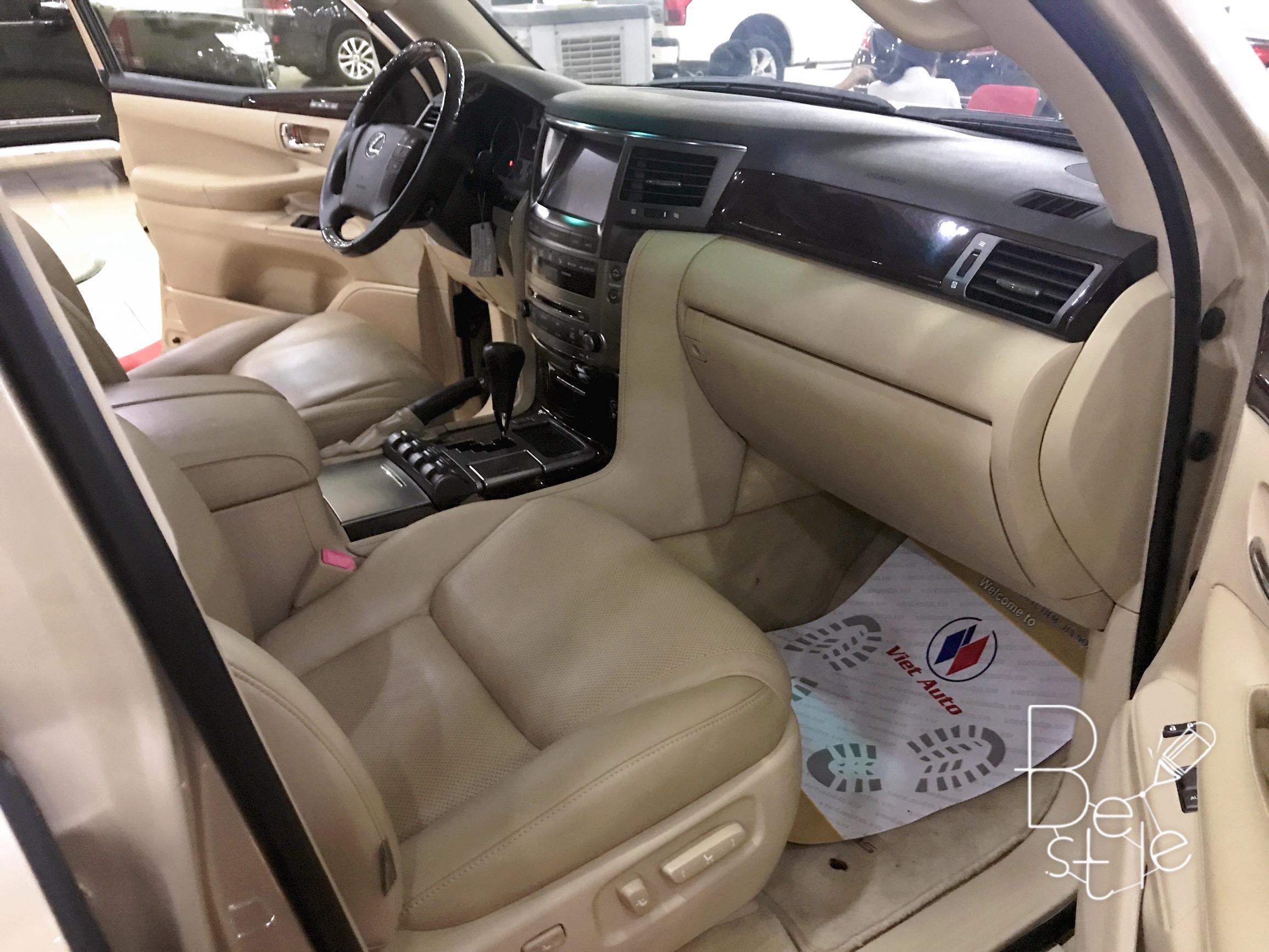 Bán Lexus LX570 nhập Mỹ,đăng ký 2010, đã lên form 2015, biển Hà Nội 5