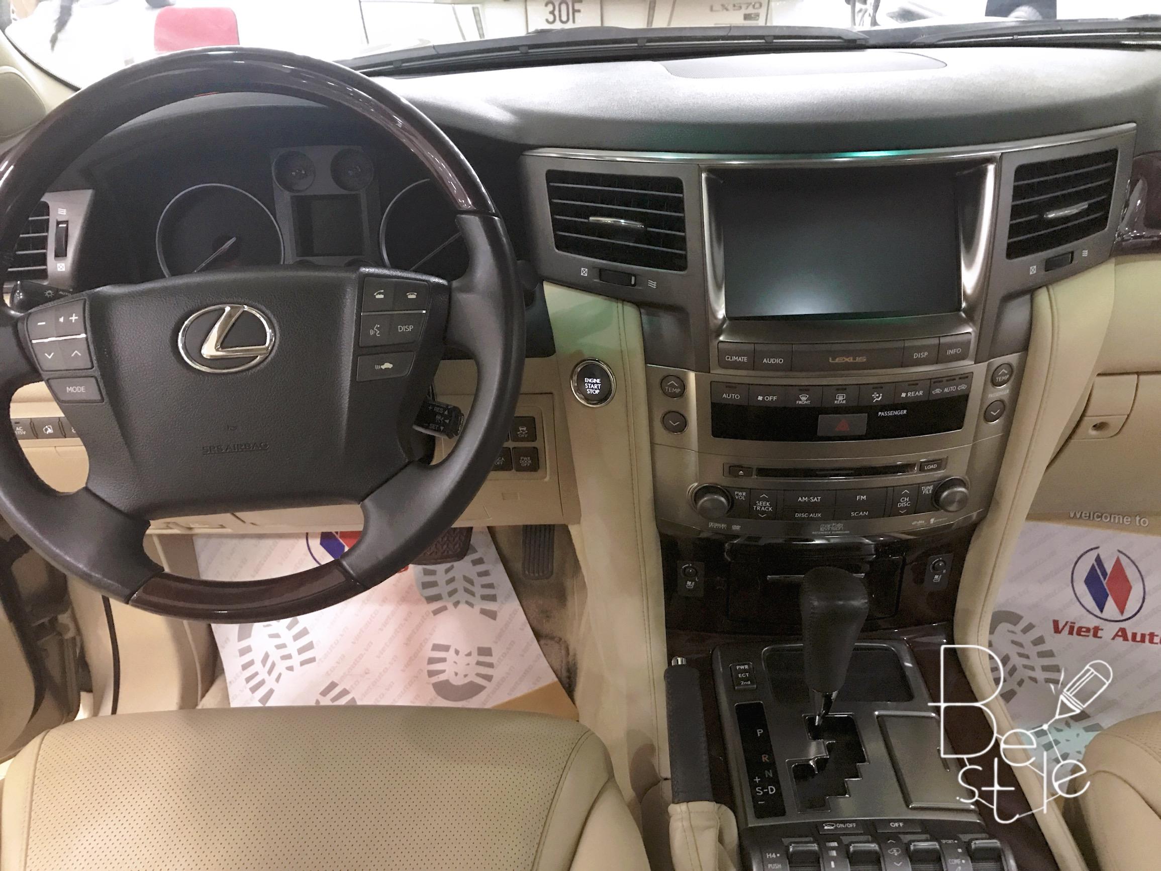 Bán Lexus LX570 nhập Mỹ,đăng ký 2010, đã lên form 2015, biển Hà Nội 7