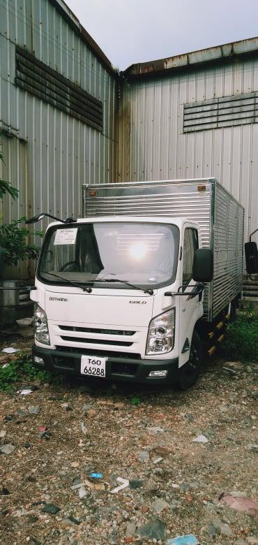 xe tải đô thành 3t5 thùng kín iz65 0