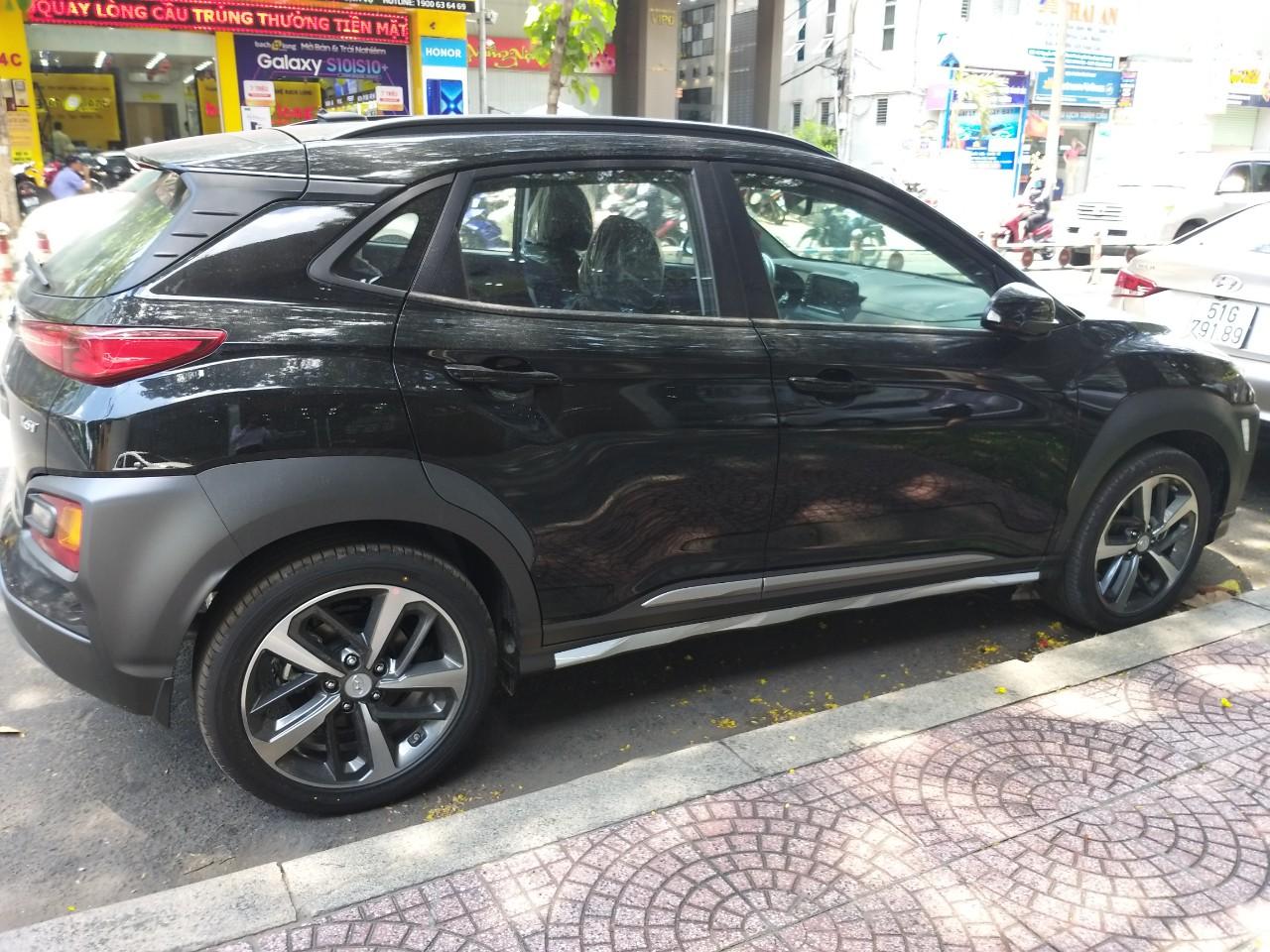 Hyundai Kona Turbo màu đen giá tốt, Hyundai An Phú, Hyundai Kona Turbo, Kona 2019, Xe Hyundai