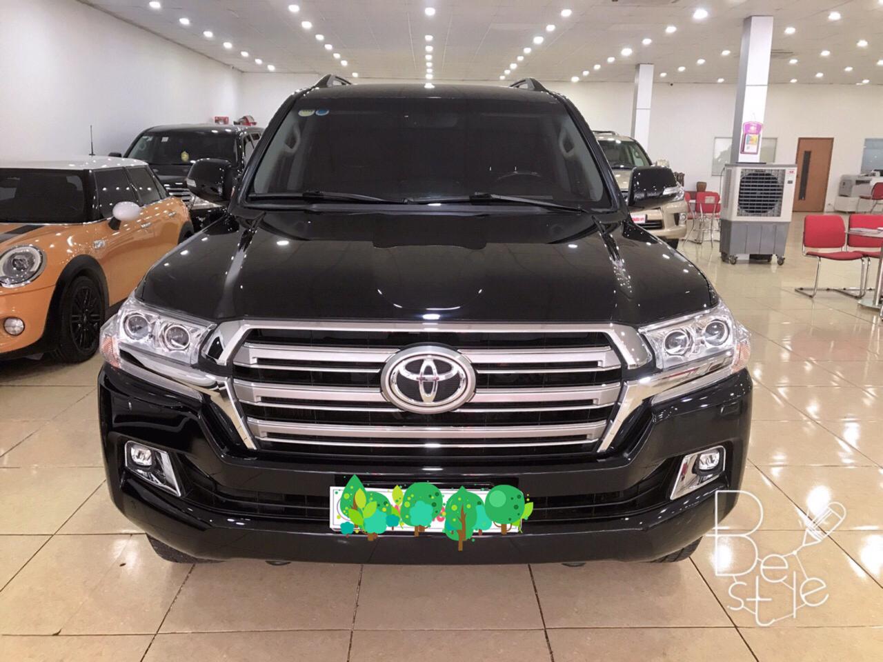Bán Toyota Land Cruise VX 4.6 ,sản xuất 2016,đăng ký 2017,xe cực mới .