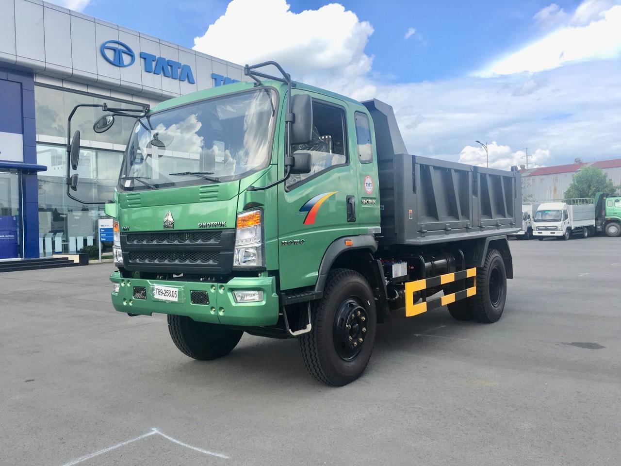 Giá Xe Ben Howo SinoTruck ST10590D 9 Tấn 2019 Hỗ Trợ Vay 80%