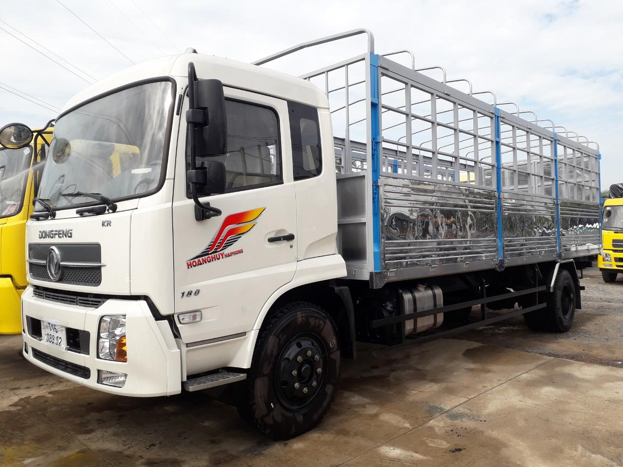 Xe b180 9 tấn thùng dài 7.5m đời 2019 tiêu chuẩn khí thải Euro5