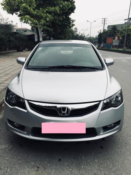 Cần bán Honda Civic 2010, số tự động 1.8, màu xám.