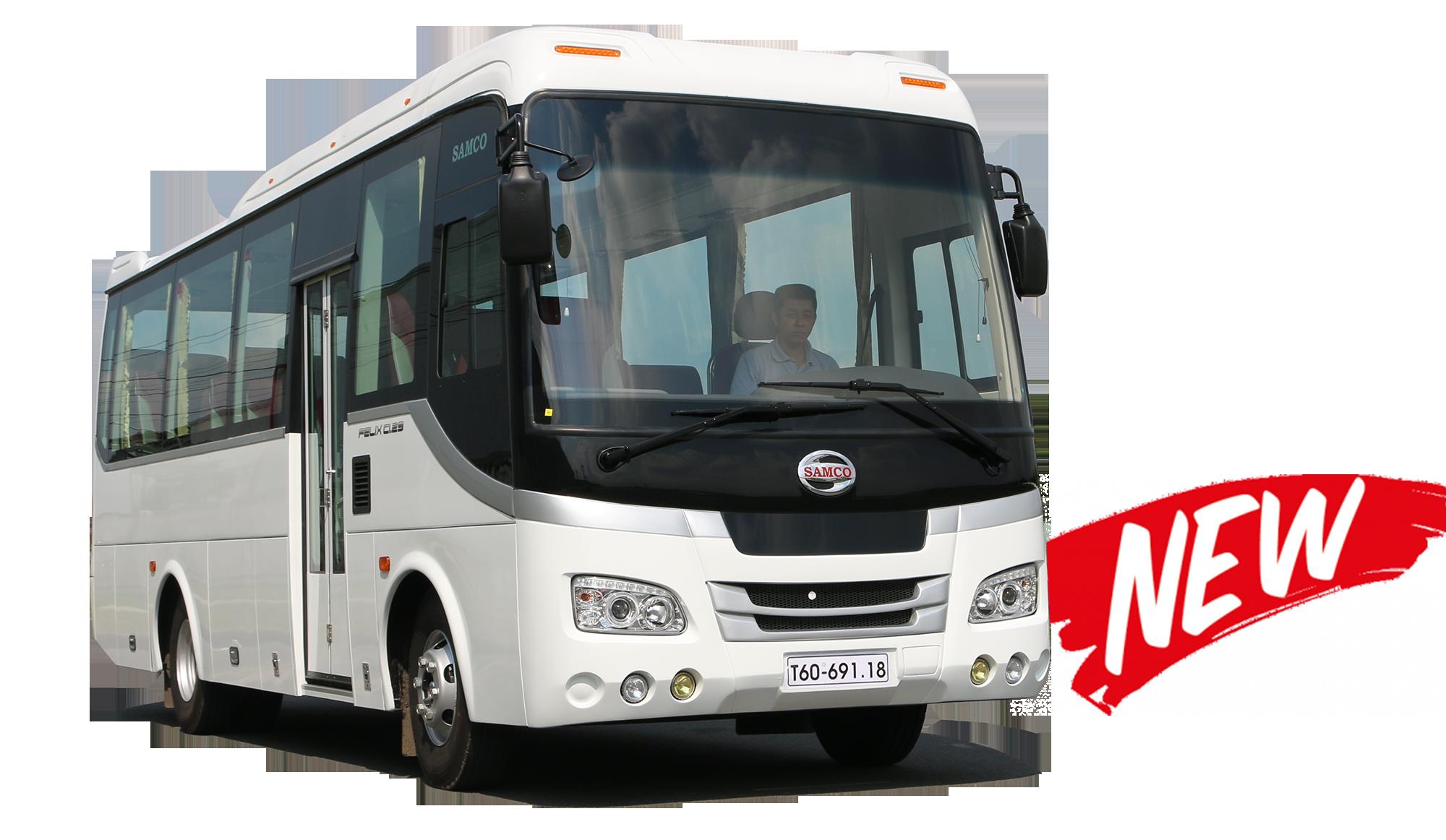 Bán xe khách SAMCO 29 chỗ ngồi động cơ ISUZU 5.2 cc