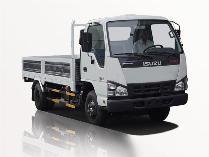 xe tải isuzu 2t5 thùng lững dáng chuẩn