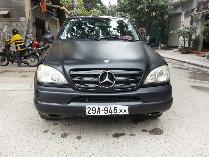 Mercedes-Benz ML350 sản xuất năm 2002 Số tự động Động cơ Xăng