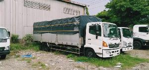 xe tải hino 15 tấn thùng bạt FL