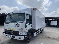 xe tải isuzu 6 tấn thùng bảo ôn frr650