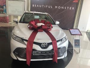Toyota Camry sản xuất năm 2019 Số tự động Động cơ Xăng