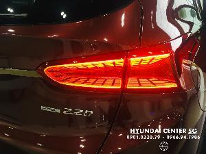 Hyundai Santa Fe sản xuất năm 2020 Số tự động Động cơ Xăng