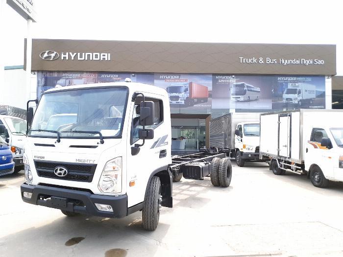 Hyundai Mighty EX8 sản xuất năm 2019 Số tay (số sàn) Xe tải động cơ Dầu diesel