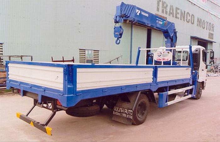 Xe tải 7 tấn HINO FC9JLSW gắn cẩu 5 tấn 5 đốt TADANO TM-ZT505 thùng dài 6m | Hỗ trợ mua trả góp 90% giá trị xe 0