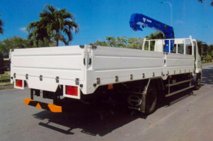 Xe tải 6,4 tấn HINO FC9JJTA EURO4 gắn cẩu 3 tấn 5 đốt TADANO model TM-ZE305 thùng dài 5m | Hỗ trợ vay vốn ngân hàng 90% giá trị xe 2