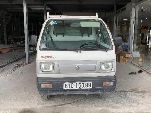 Bán xe tải ben Suzuki 550kg đời 2015 màu trắng 2