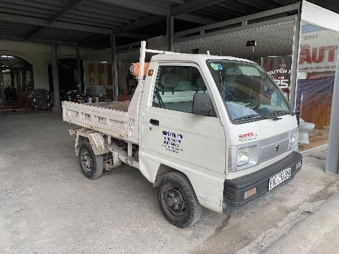 Bán xe tải ben Suzuki 550kg đời 2015 màu trắng 3