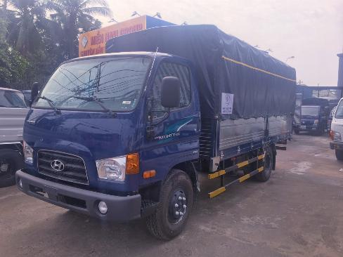 Xe tải thùng bạt hyundai 7 tấn thùng dài 5m - Trả Góp 1