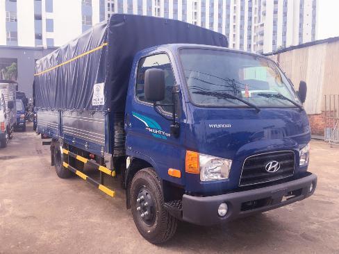 Xe tải thùng bạt hyundai 7 tấn thùng dài 5m - Trả Góp 0