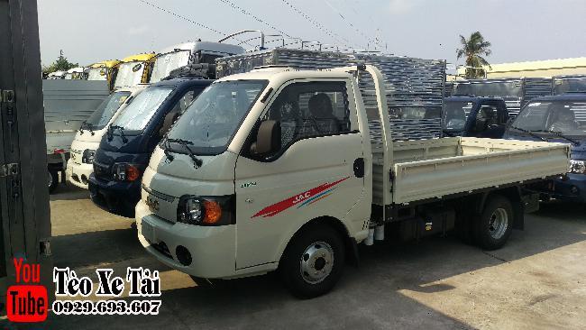 Jac x5 thùng lững   Xe tải Jac - Jac 1.25 tấn thùng lững 3m2 2