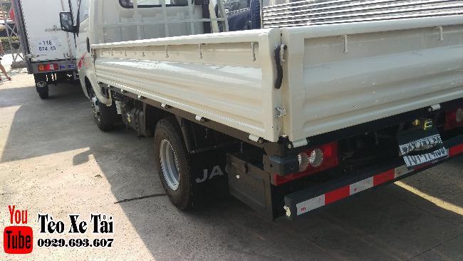 Jac x5 thùng lững   Xe tải Jac - Jac 1.25 tấn thùng lững 3m2 4