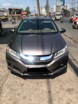 Cần bán xe Honda City đời 2015 số tự động màu xám 1