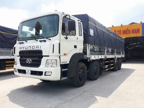 Xe tải HYUNDAI 4 chân hd320 tải 17.5 tấn thùng dài 9.7m - Trả góp