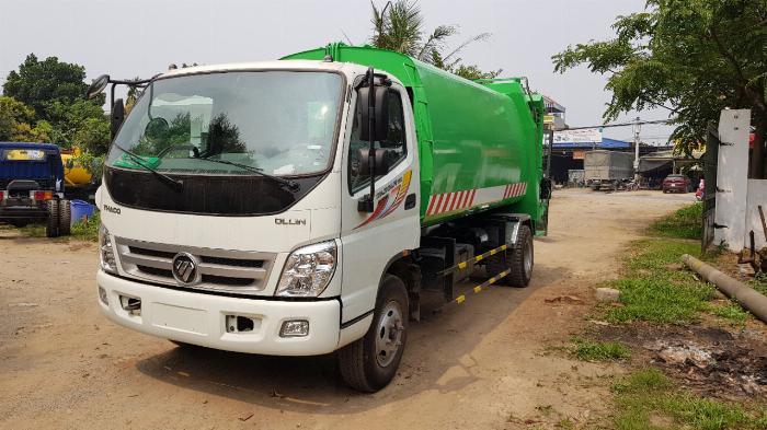 Bán xe Cuốn ép rác Thaco Ollin 700C 11 khối 1