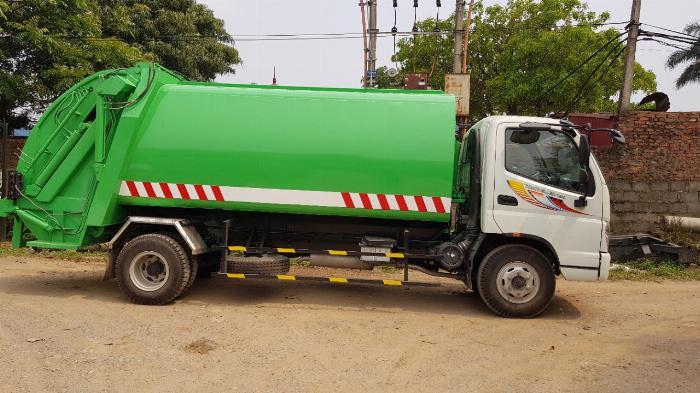 Bán xe Cuốn ép rác Thaco Ollin 700C 11 khối 2