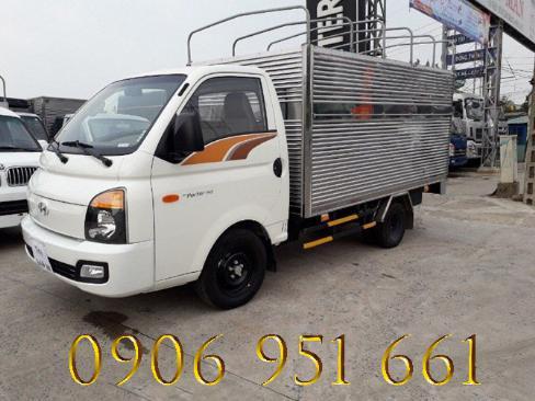 Xe tải  Huyndai 1T5 thùng kín, H150 1T giá rẻ nhất Miền Nam 1