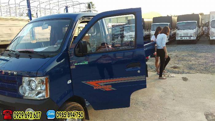 Xe tải 500kg – Dongben thùng lững | kín | mui bạt, có trợ lực lái, kính điện dời 2018 3